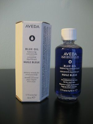 Aveda Blue Oil - Great for tension headaches and muscle spasms!