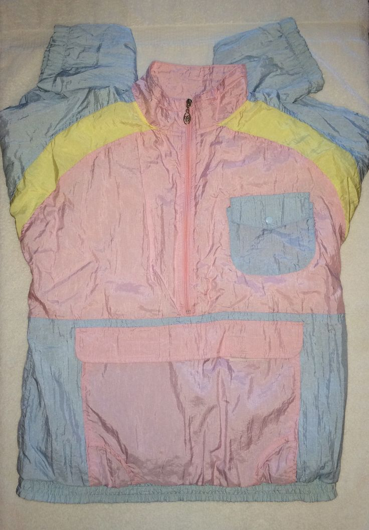 Retro Windbreaker- Size XL