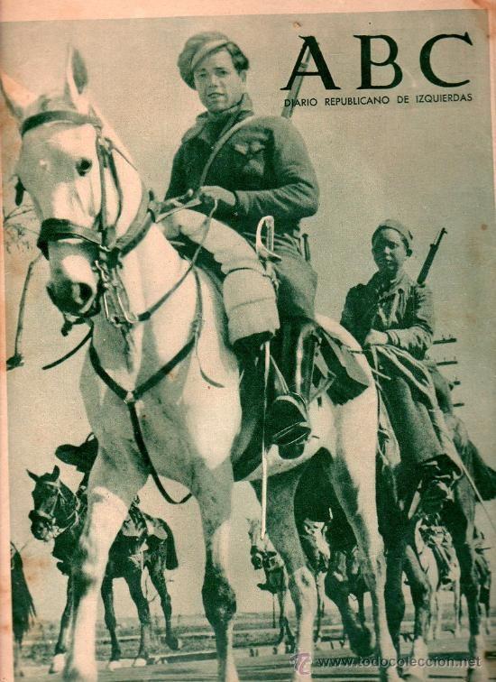 ABC DIARIO REPUBLICANO DE IZQUIERDAS MADRID 13 ABRIL 1937. VER DESCRIPCION. - Foto 1