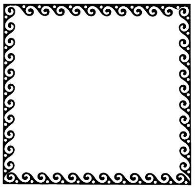 17 mejores ideas sobre marcos decorados en pinterest - Marcos decorados ...