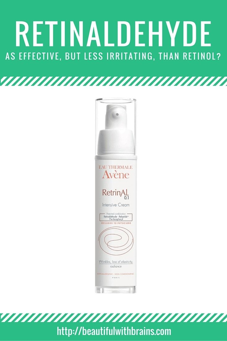 Retinol, a form of vitamin A, is one of the most powerful weapons against premature aging. It boosts collagen production and accelerates cellular turnover, preventing and reducing wrinkles. It also helps treat acne. But, it can be very irritating, especially if you have sensitive skin. Retinaldehye, another form of vitamin A, is said to be as effective but less irritating. Is it true? Click through to find out.