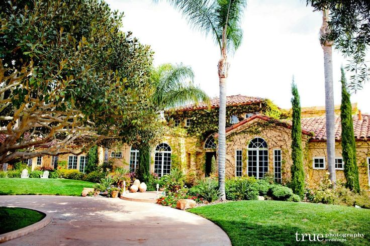 The Emma Estate in Rancho Sante Fe - 300 capacity; byo catering permitted; starts at $3500