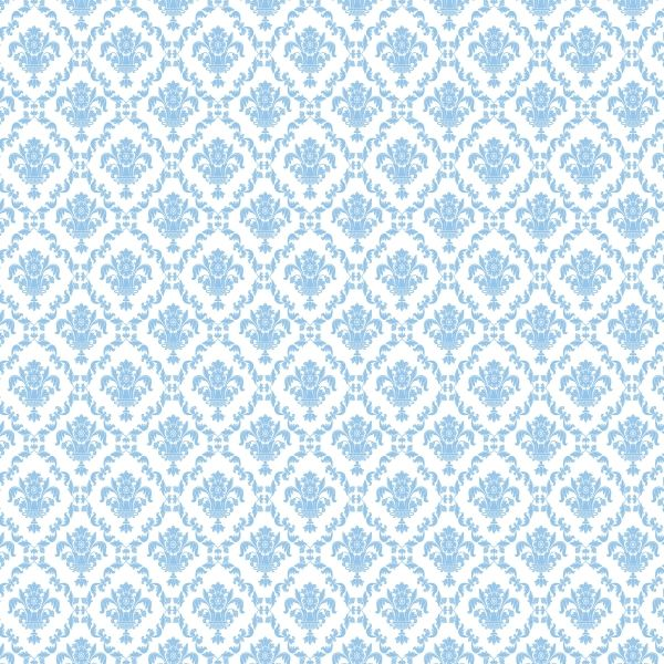 Blue Damask | Download our Blue Damask wall paper for your scrapbook!