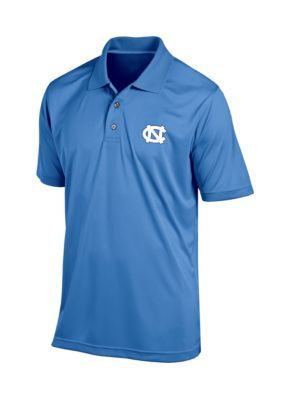 Knights Apparel Unc Classic Fit Short Sleeve Polo - Carolina Blue - 2Xl
