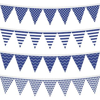 Free Printable Bunting & Garland & Banner Decorations - Baby Shower Ideas - Themes