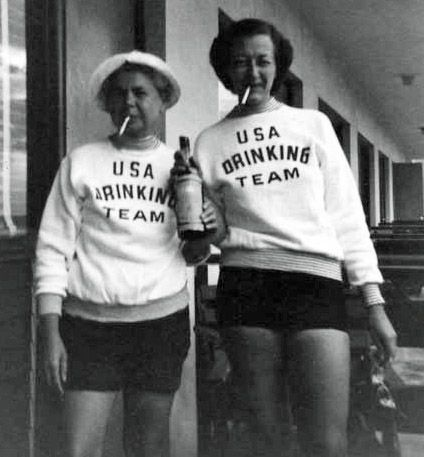 For real: Best Friends, Drinks Team, Halloween Costumes, Funny, 40 Years, Usa Drinks, Team Usa, Old Ladies, 30 Years