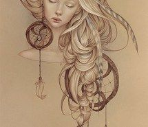 Inspiring image amazing, beautiful, cute, drawing, dream catcher, girl, hippie, pretty #1942585 by saaabrina - Resolution 550x989px - Find the image to your taste