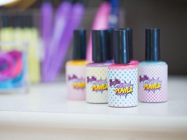 barbie nail polish