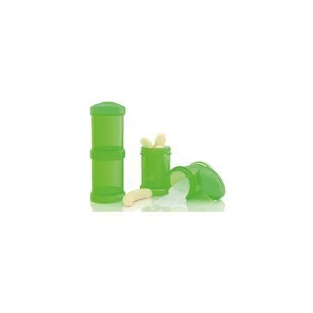 Twistshake Контейнер для сухой смеси 100 мл. 2 шт., TwistShake, зелёный  — 499р.  Контейнер для сухой смеси 100 мл. 2 шт., зелёный от шведского бренда Twistshake (Твистшейк), придет по вкусу малышам и современным родителям. Эти контейнеры прекрасно подходят для хранения детской смеси и оптимальны в использовании, их горлышко меньше горлышка любых бутылочек Twistshake (Твистшейк), потому позволяют пересыпать смесь без просыпания. Контейнеры также подходят для хранения каш, фруктов…