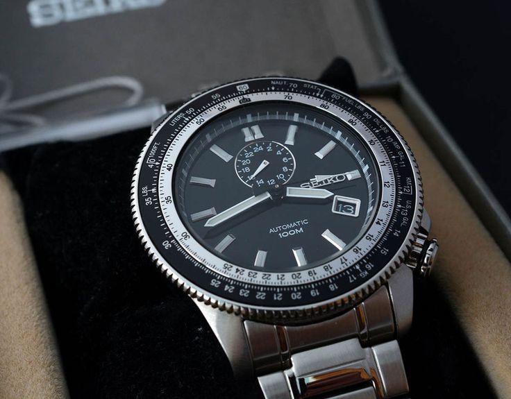 Seiko Superior 4R37 ssa003k automatic watch    eBay