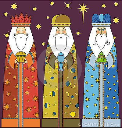 January 6 celebration of the 3 Wise Men