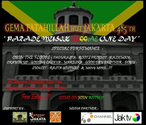"""Reggae """"Parade"""" June 26"""