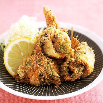 いわしの梅じそフライ byコウ静子さんの料理レシピ - レタスクラブ