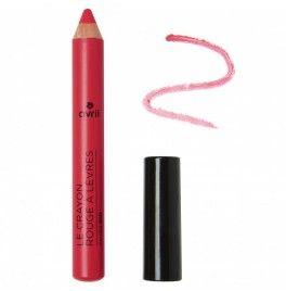 Creion ruj bio roz intens cu unt de shea Rose Indien 89