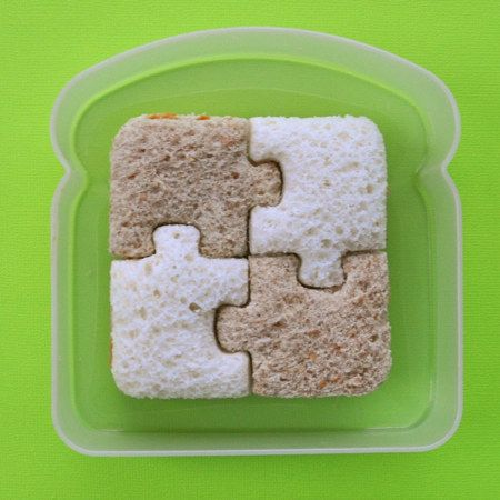 This interlocking sandwich.   29 Food Pictures So Satisfying They'll Actually Make You Hungry