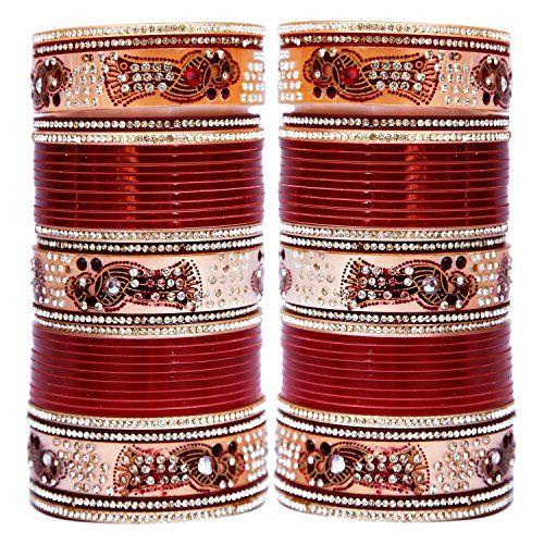 VVS Jewellers Bollywood Inspired Maroon Stone Chuda Brida... https://www.amazon.com/dp/B072LVF2CT/ref=cm_sw_r_pi_dp_x_5N9lzb5SY9TA5