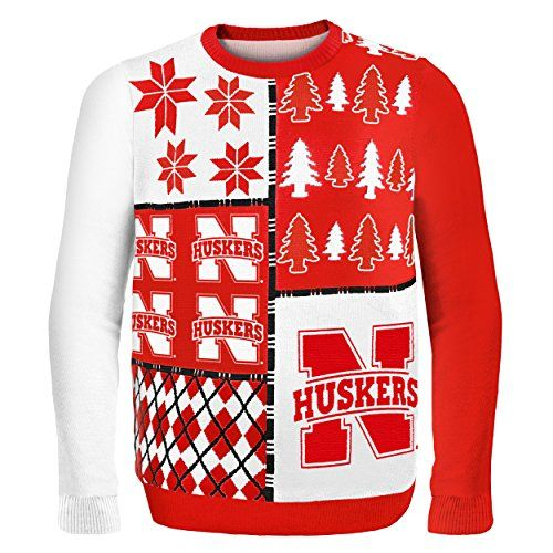 compare prices on nebraska cornhuskers ugly sweaters from top online fan gear retailers save money on ugly sweaters this holiday season