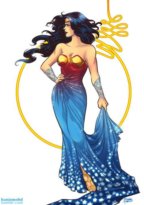 Goddess Wonder Woman.
