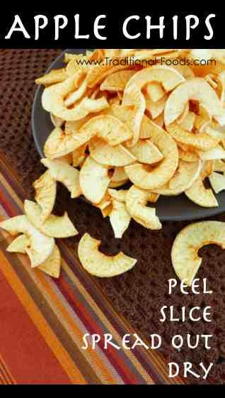Apple Chips @ Traditional-Foods.com