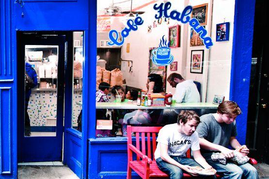 Café Habana. 17 Prince Street. Nolita.: Nolita Timeout, Cafe Habana, New York Restaurant, Restaurants Cafes, Prince Street, 17 Prince, Blue Colors, Nyc Restaurant, Prince St.