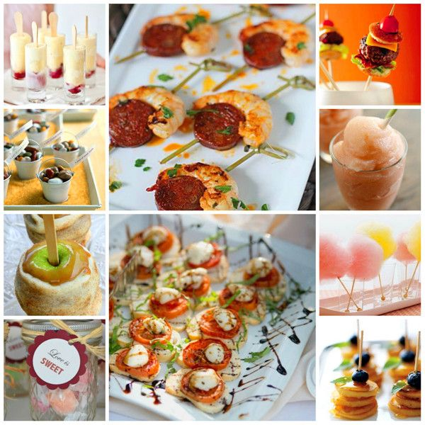 Finger Food Wedding: 151 Best Images About Wedding Foods On Pinterest