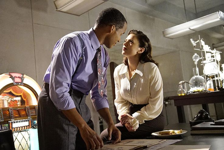 Reggie Austin and Hayley Atwell, Agent Carter