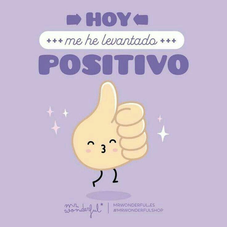 #positivo #actitud #mrwonderful