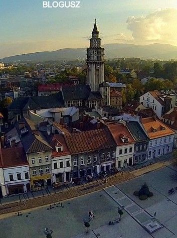 Old Town in Bielsko-Biala, Poland