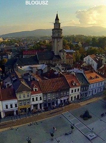 Old Town in Bielsko-Biala, Poland