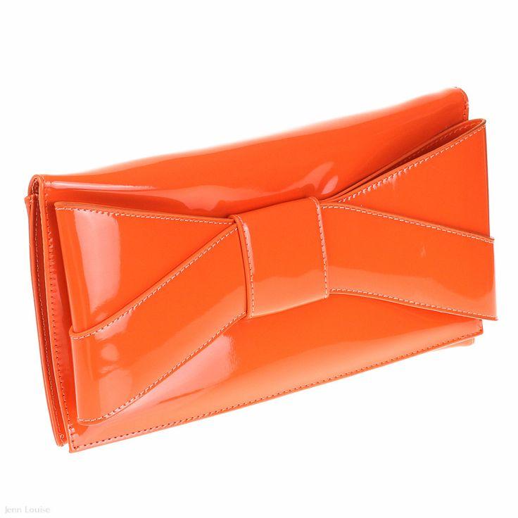 Envelope Clutch (Orange)