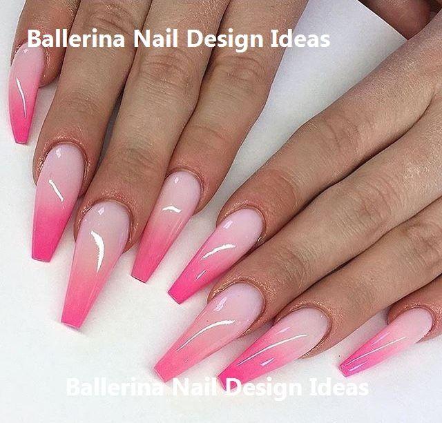 Trendy Ballerina Nail Art 2019 Ballerinanails Pink Ombre Nails Summer Acrylic Nails Ombre Acrylic Nails