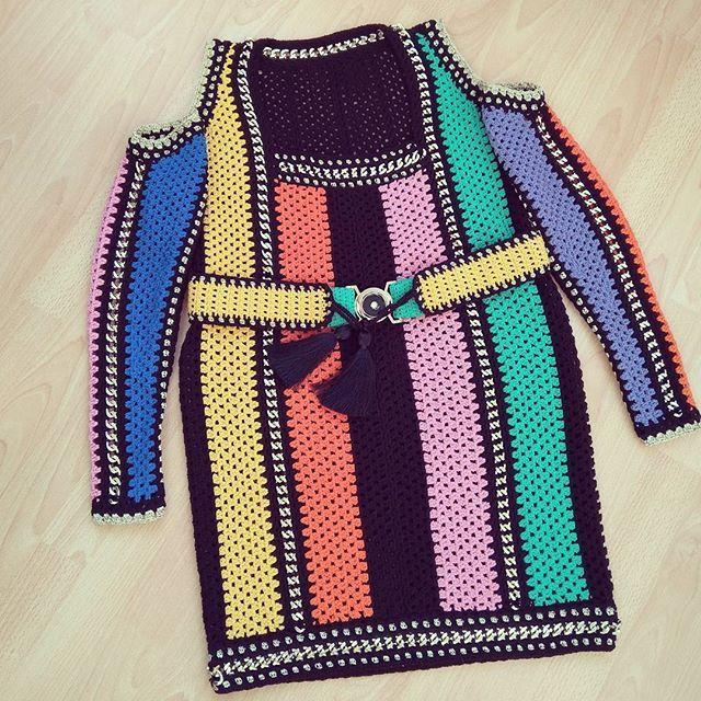 Finish 😘.  .  .  .  .  #crochetdress #order #forb #taramayknit
