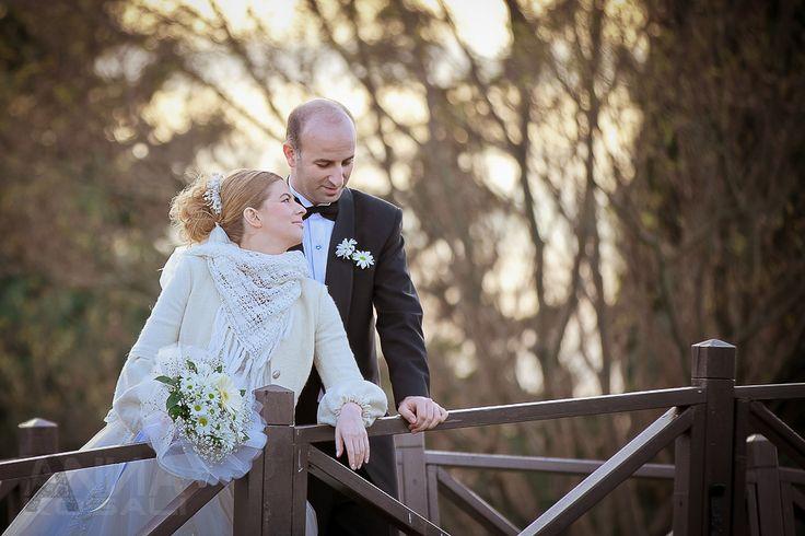 Düğün günü fotoğraf çekimi