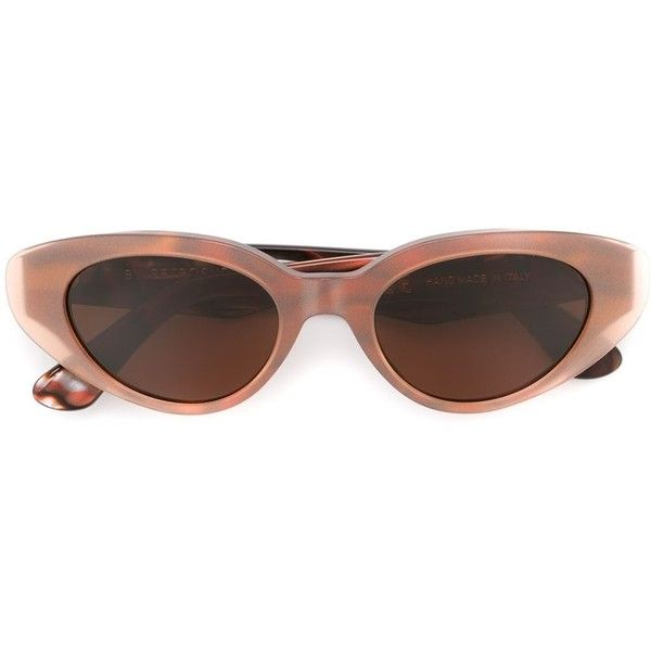 Retrosuperfuture 'Ragazza Carusa' sunglasses ($98) ❤ liked on Polyvore featuring accessories, eyewear, sunglasses, glasses, pink glasses, retrosuperfuture glasses, acetate sunglasses, retrosuperfuture and acetate glasses