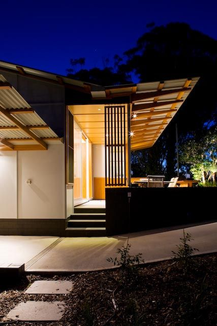 fibro beach shack in the seaside town of Wamberal on the NSW Australia, by Matt Elkan Architecture