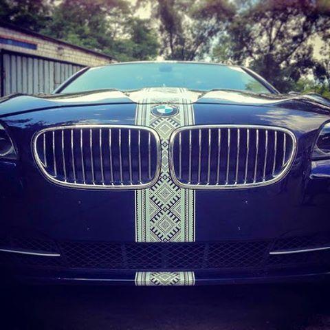Patriotic car. #amazingukraine #amazing #ukraine #patrioic #patriot #car #auto #bmw #bmw❤️