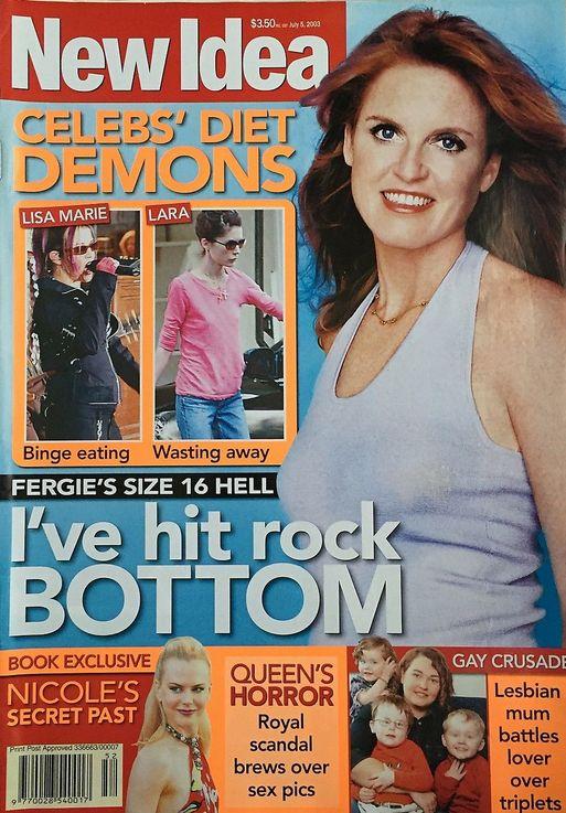 FERGIE - New Idea Magazine July 5, 2003
