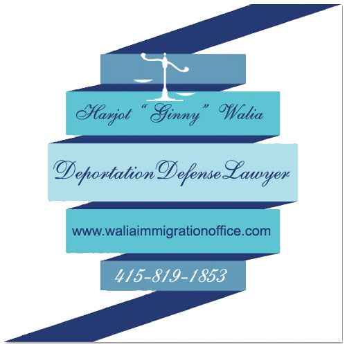 Deportation defense Lawyer bay area San Francisco - Law office of Ginny Harjot Walia.
