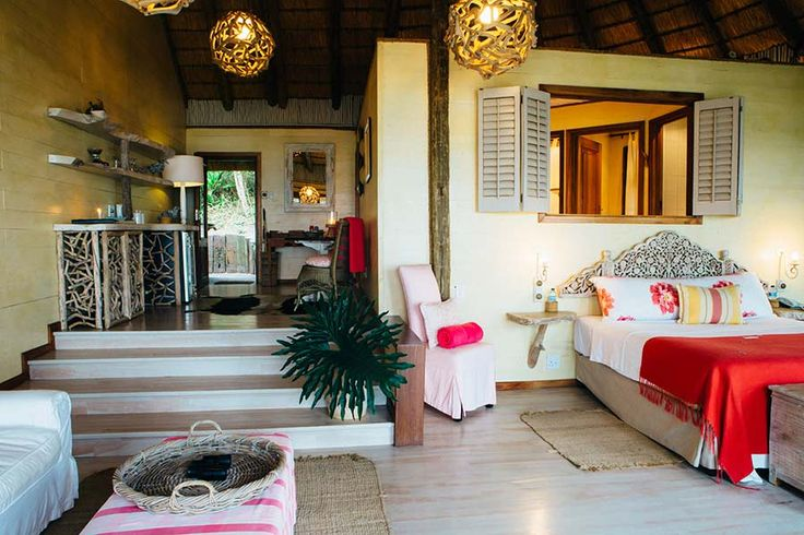 NTABENI: DELUXE SPA SUITES Adults Only You'll discover that our recent additions nestled on the hillside near the spa, the tastefully decorated, spacious Ntabeni spa suites are just what the doctor ordered. These suites offer 180 degree views of the ocean in luxurious comfort, with a rejuvenating experience for you mind and body close at hand. Umngazi River Bungalows and Spa - Award-winning family resort and spa - Wild Coast, Eastern Cape, South Africa.