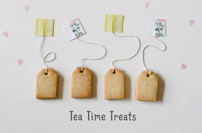DIY Tea Time Treats via Frankie mag. can this be any cuter?