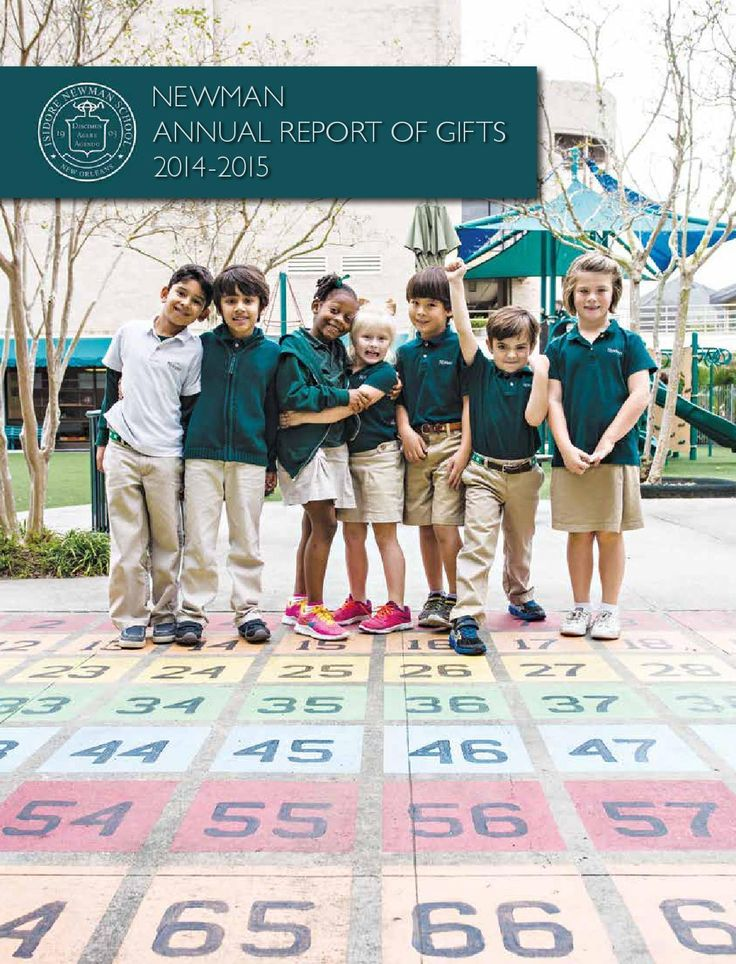 Isidore Newman School Annual Report 2014-15 by Isidore Newman School - issuu