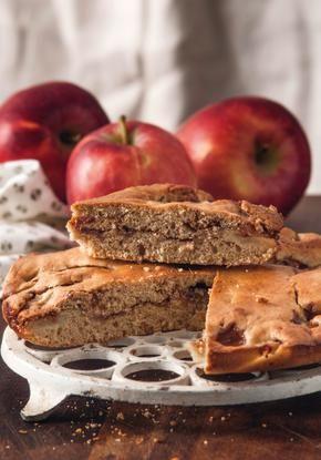 Κέικ μήλου με άρωμα καφέ //cookbook.gr