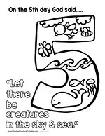 The Days of Creation are written starting in Genesis 1:1 and outline what God made during each of the six days of creation. On the Seventh Day of Creation God rested. This is a collection of Free Coloring Pages with Bible Verse References you can use when teaching children the Days of Creation. We have many more …