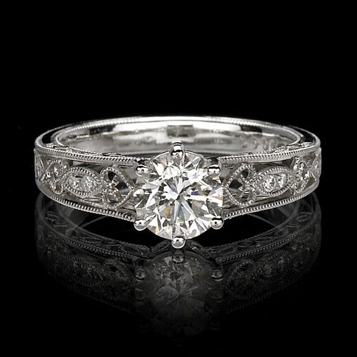 17 best images about jewellery solitaire antique style on