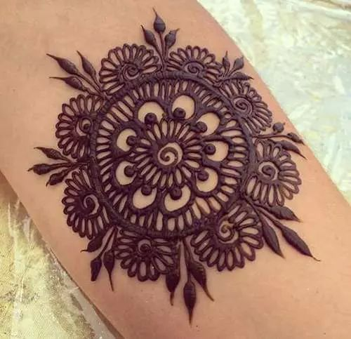 Henna Tattoo Tulsa : Flower design mehndi home ideas