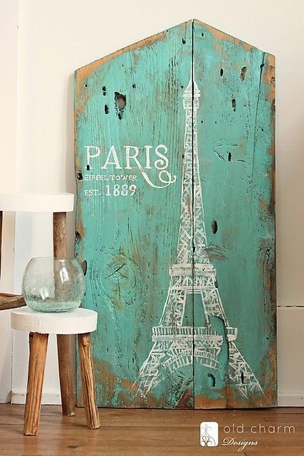 Paris signage. beautiful!