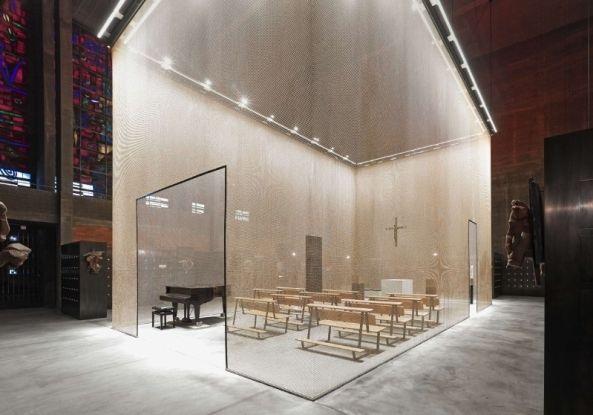 Alles ist schon da - Kirche in Köln von Kissler und Effgen zu Kolumbarium umgebaut