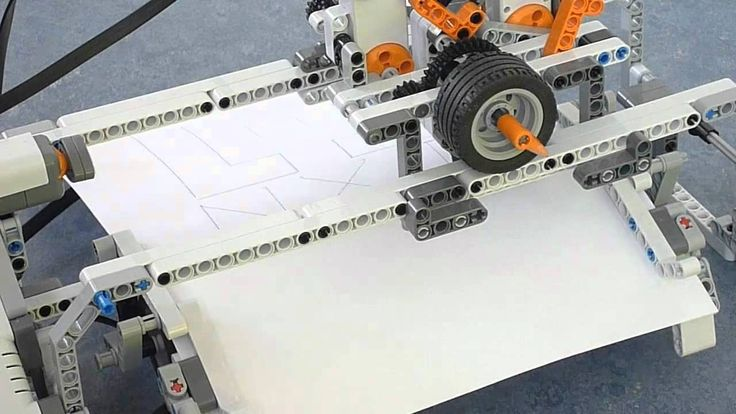 ev3 printer building instructions