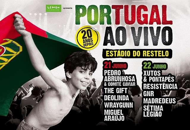Portugal ao Vivo! Dias 21 e 22 de Junho 2013 no Estádio do Restelo em Oeiras   Oeiras   Portugal   Escapadelas ®