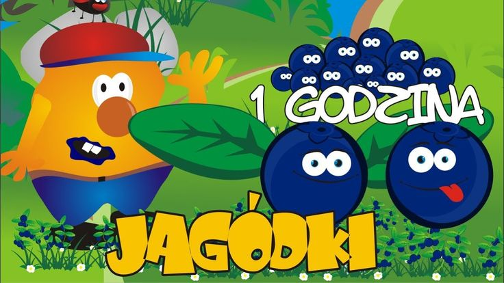 Jagódki - Polskie piosenki dla dzieci -  1 godzina - BABADU TV